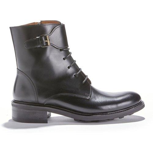 Boots montantes cuir vachette 7350 POLIDO - ANTHOLOGY PARIS - Modalova