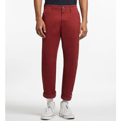 Pantalon Hudroit Chino Straight Stretch - GALERIES LAFAYETTE - Modalova