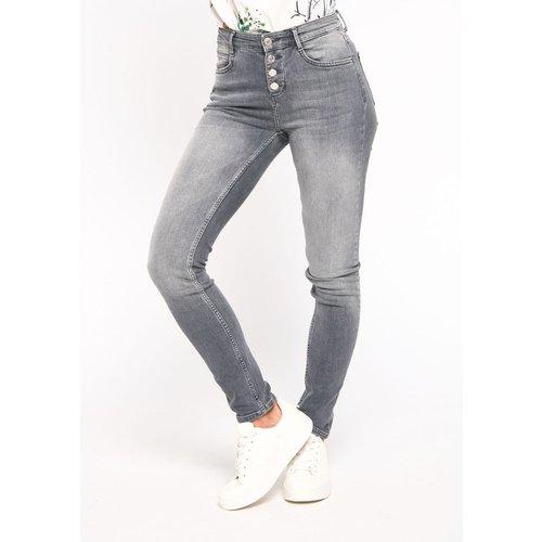 Jeans skinny avec boutons - LOLALIZA - Modalova