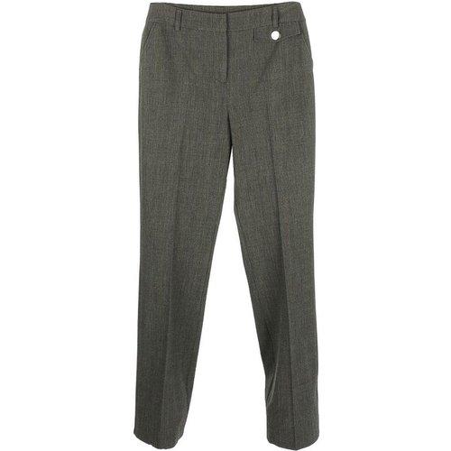 Pantalon droit en prince de galles ou effet fil à fil - DERHY - Modalova