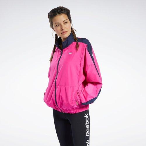 Veste en toile avec logo linéaire Training Essentials - REEBOK SPORT - Modalova