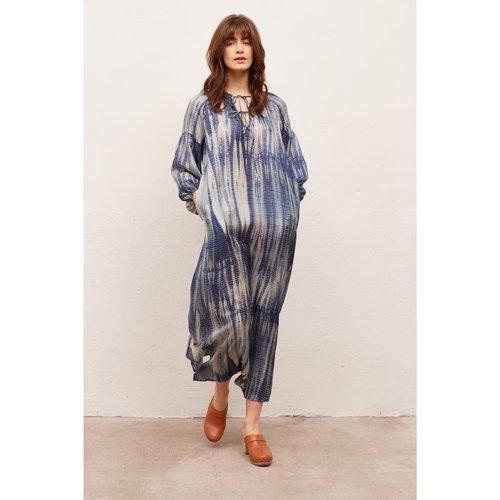 Robe longue en soie imprimée SEINA - Gerard Darel - Modalova