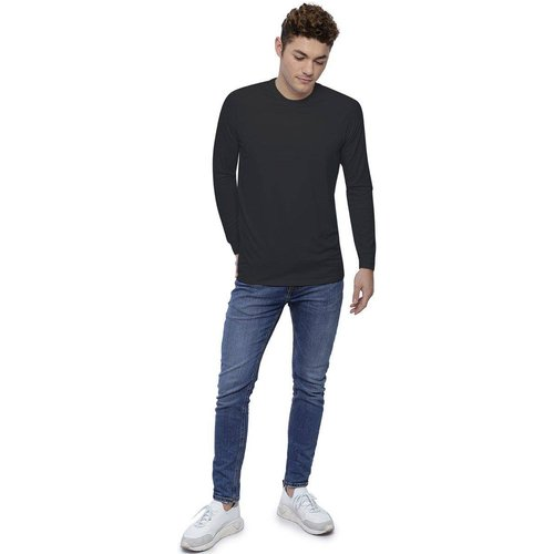 T-shirt col rond manches longues raglan en modal DANY - RENDEZ-VOUS PARIS - Modalova