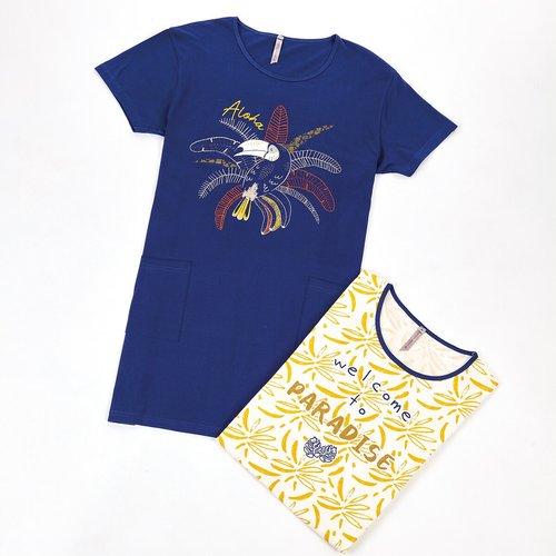 Chemise de nuit manches courtes Alo - MELISSA BROWN - Modalova