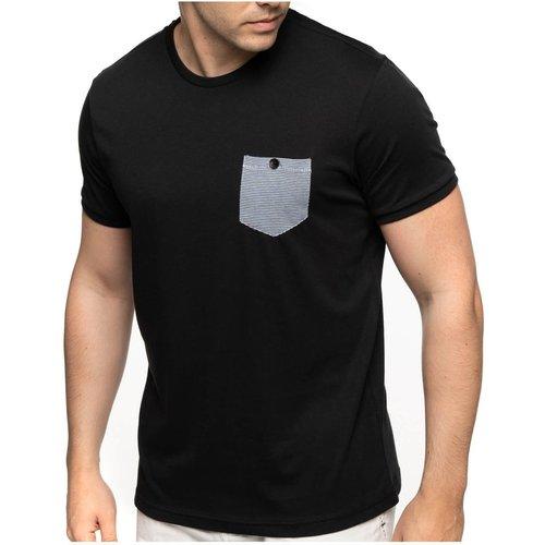 T-shirt manches courtes poche boutonnée - SHILTON - Modalova