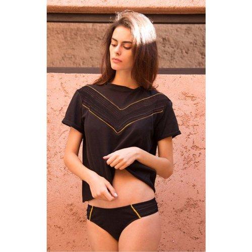T-shirt court à manches courtes ATHENA - LUZ COLLECTIONS - Modalova