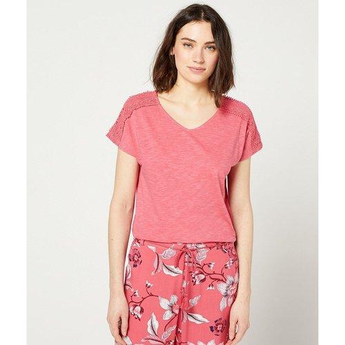 T-shirt de pyjama de pyjama manches courtes SIMEA - ETAM - Modalova