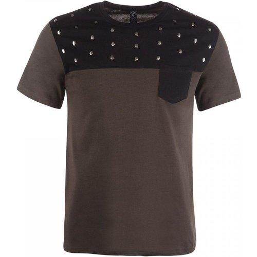 T-shirt à manches courtes imprimé et poche - RIVALDI - Modalova