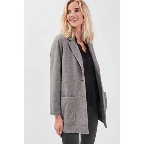 Manteau ample boutonné - BONOBO - Modalova