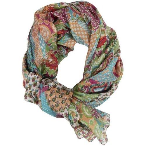Foulard en soie imprimée - Santander - DERHY - Modalova