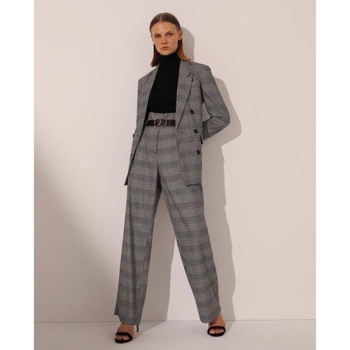 Pantalon paper bag avec ceinture - FORMULA JOVEN - Modalova