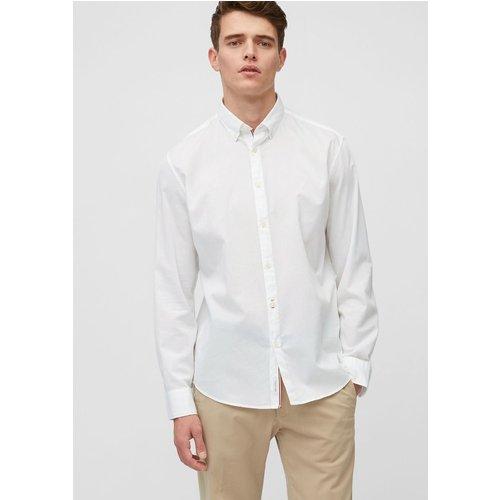Chemise à manches longues coupe regular en bedford - Marc O'Polo - Modalova