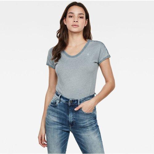 T-Shirt Col V Sans Manches Uni - G-Star Raw - Modalova