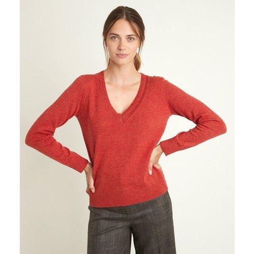 Pull en laine et cachemire col V ROZANE - Maison 123 - Modalova