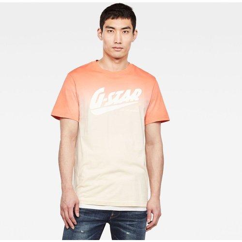 T-Shirt Col Rond Manches Courtes Uni - G-Star Raw - Modalova