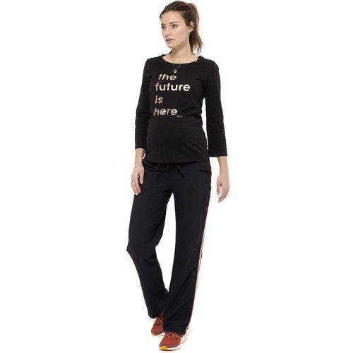 T-shirt manches longues de grossesse - QUEEN MUM - Modalova