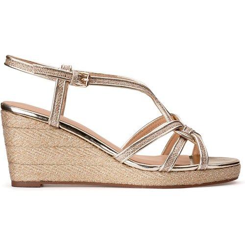 Sandales cuir compensées Grinda - COSMOPARIS - Modalova