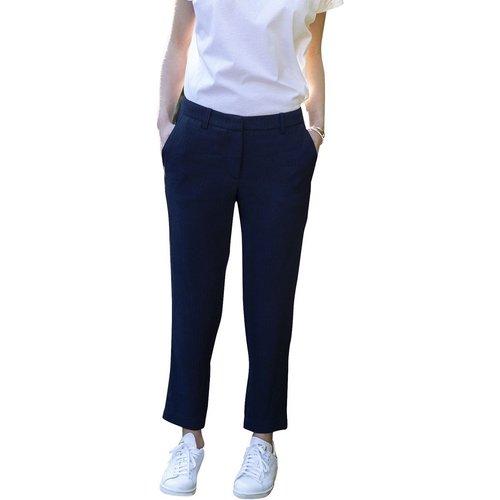 Pantalon droit - CHEMINS BLANCS - Modalova