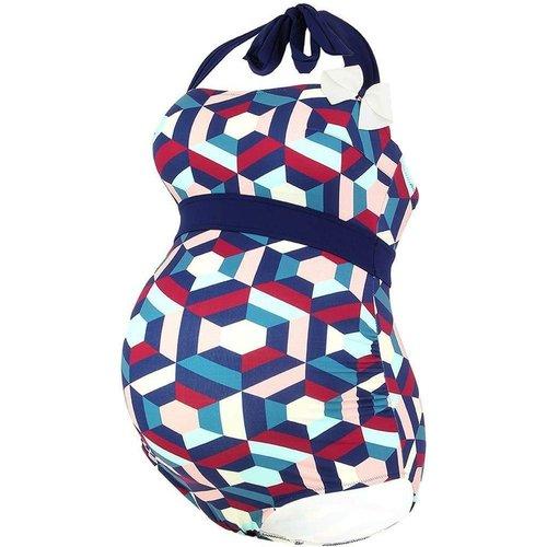 Maillot de bain de grossesse Napoli multicolor - Cache Coeur - Modalova