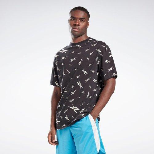 T-shirt Training Essentials avec imprimé intégral - REEBOK SPORT - Modalova