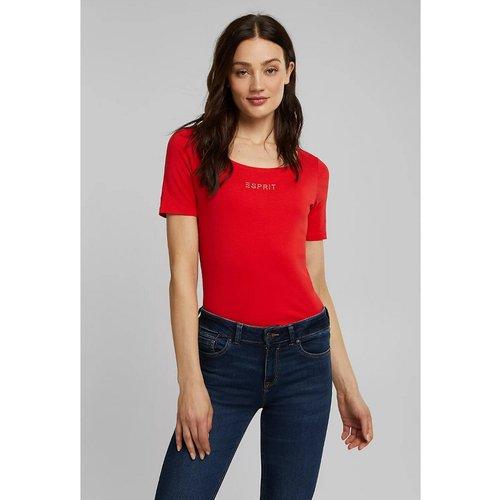 T-shirt manches courtes en coton bio - Esprit - Modalova