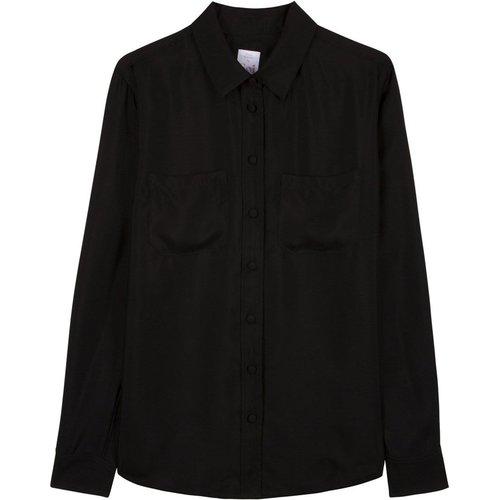 Chemisier en soie Noir Couture - SOI PARIS - Modalova