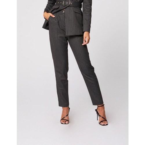 Pantalon droit taille haute - Morgan - Modalova