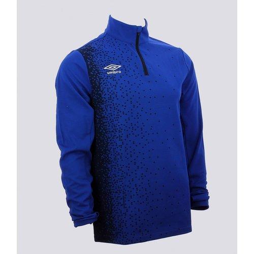T-shirt Manches Longues Imprime Polyester - Umbro - Modalova