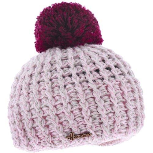Bonnet pompon laine doublé polaire JUSTIN 8305 - HERMAN - Modalova