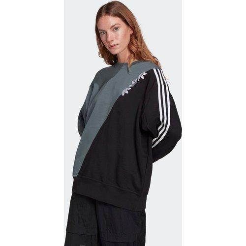Sweat-shirt Adicolor Sliced Trefoil - adidas Originals - Modalova
