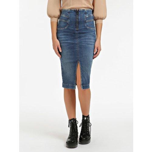 Jupe En Jeans Classique - Guess - Modalova