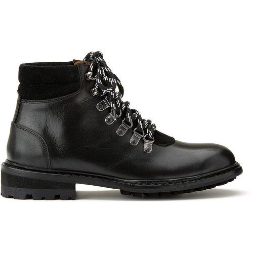 Boots en cuir style randonnée MERIBEL - ANTHOLOGY PARIS - Modalova