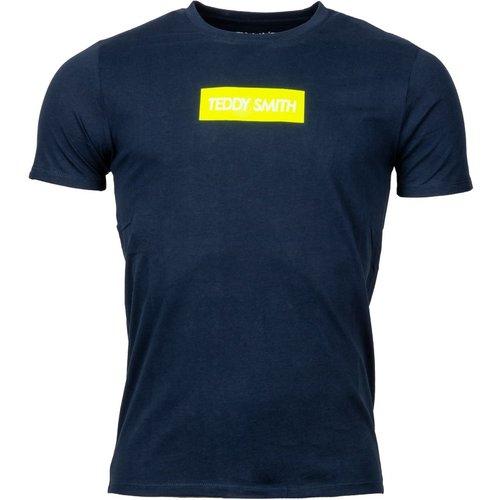 Tee-shirt col rond Tesuper coton - Teddy smith - Modalova