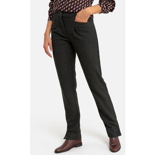 Pantalon fuselé en tweed chevrons - Anne weyburn - Modalova