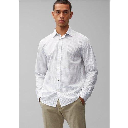 Chemise à manches longues regular À mini-imprimé all-over - Marc O'Polo - Modalova