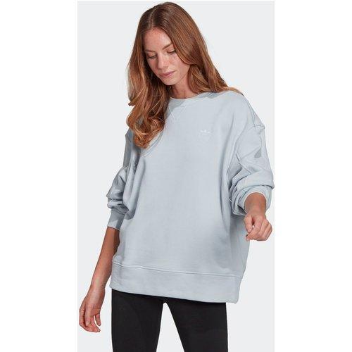 Sweat-shirt Adicolor 3D Trefoil Oversize - adidas Originals - Modalova