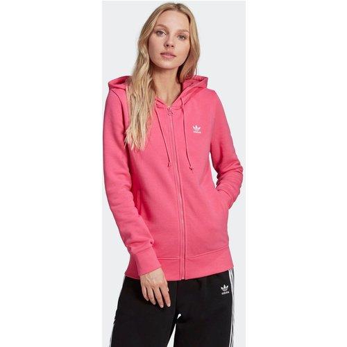 Veste à capuche zippée Trefoil Essentials - adidas Originals - Modalova