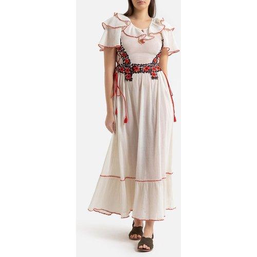 Robe longue à volants, manches courtes PAOLA - Antik batik - Modalova