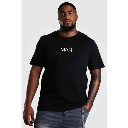 Tee-shirt col rond manches courtes - BOOHOOMAN BIG & TALL - Modalova