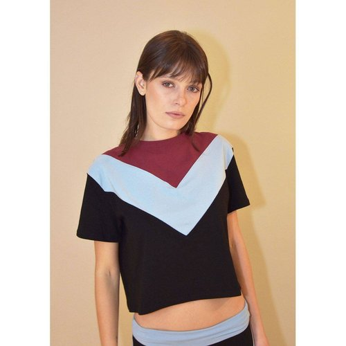 T-shirt en coton bio PEARL - LUZ COLLECTIONS - Modalova