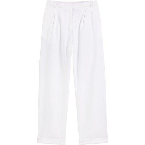 Pantalon droit peau de pêche - VANESSA SEWARD X LA REDOUTE COLLECTIONS - Modalova