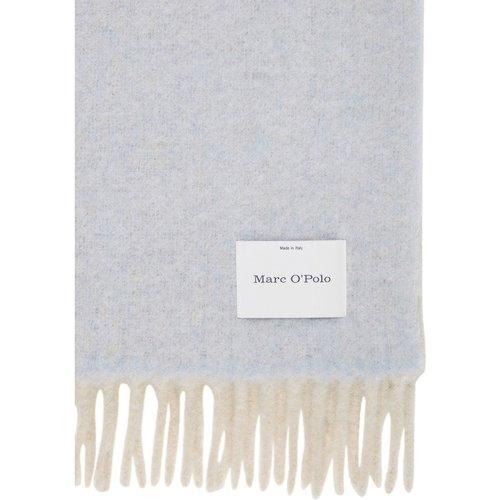 Echarpe à franges en douce laine d'alpaga mélangée - Marc O'Polo - Modalova