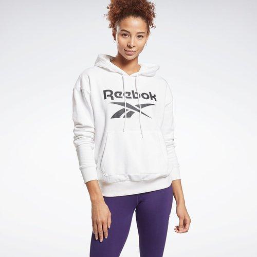 Hoodie molletonné Reebok Identity Logo - REEBOK SPORT - Modalova