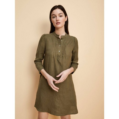 Robe-chemise en lin - CYRILLUS - Modalova