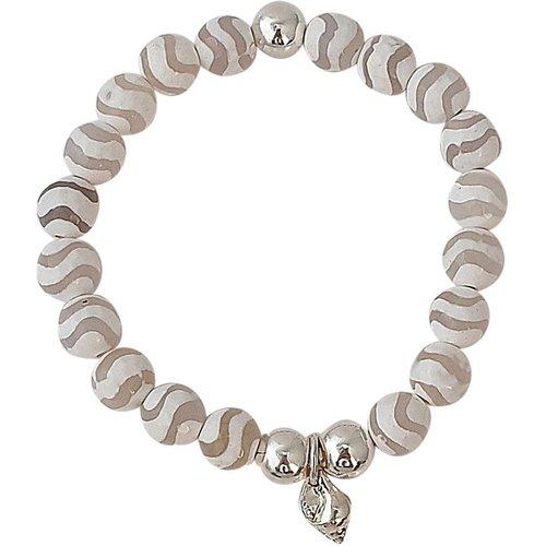 Bracelet perles agate fantaisie SERENITY - SECRETS DES ANGES - Modalova
