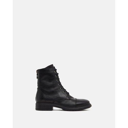 Boots cuir à petit talons ALYNA - MINELLI - Modalova