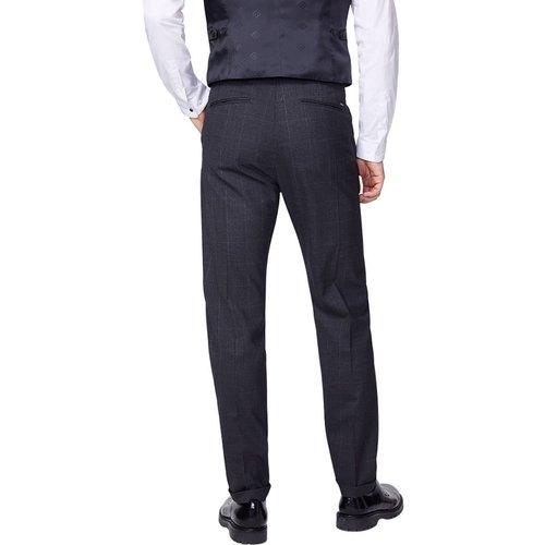 Pantalon classic faux uni - IKKS - Modalova