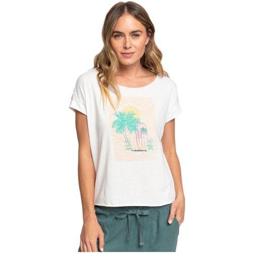 T-Shirt, manches courtes, col rond, Uni - Roxy - Modalova