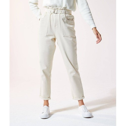 Pantalon ce nturé coupe carotte JOY - ETAM - Modalova