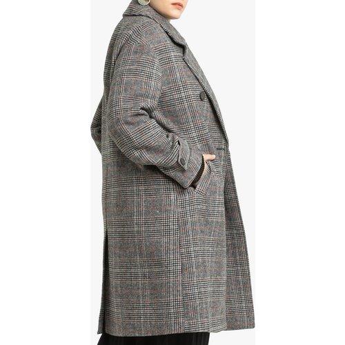 Manteau long à carreaux - LA REDOUTE COLLECTIONS PLUS - Modalova